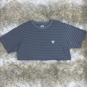 Uniqlo Shirts - UNIQLO X KAWS STRIPED SHIRT